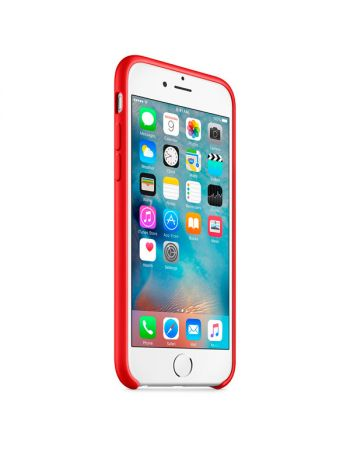 Чехол для iPhone Apple iPhone 6/6s Silicone Case Red